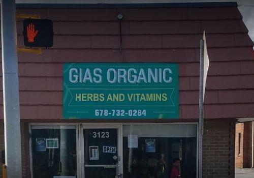 Gias Organic Herbs and Vitamins